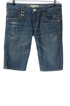 Fracomina Jeansshorts blau Casual-Look