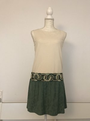 Fracomina Kleid mit schöner Perlenbordüre