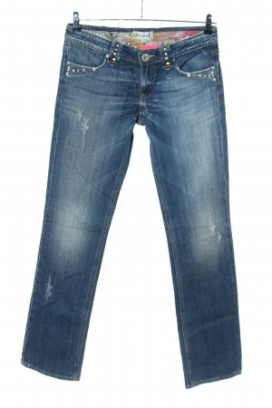 Fracomina Slim Jeans blue casual look