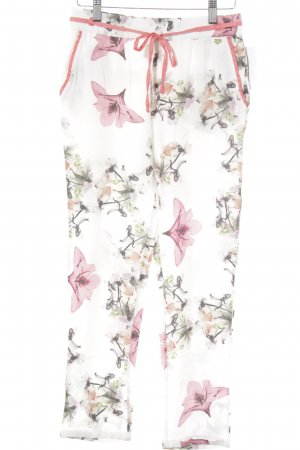 Fracomina Stoffhose florales Muster Casual-Look