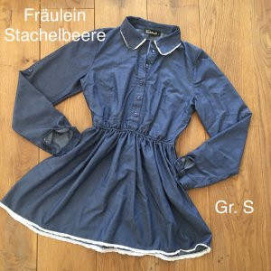❤️Fräulein Stachelbeere❤️ Long Bluse/ Mini Kleid Gr. S Jeans wNEU