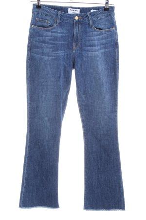 Frame Denim Boot Cut Jeans blau Casual-Look