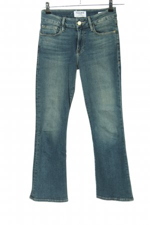 Frame Denim Boot Cut Jeans blau Casual-Look