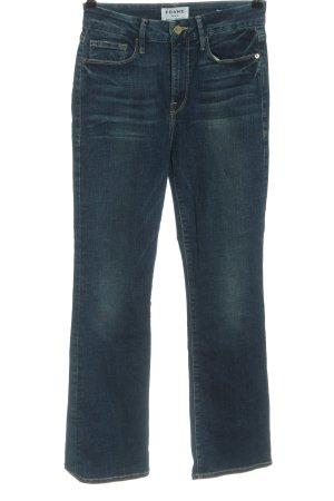 Frame Denim High Waist Jeans blau Casual-Look