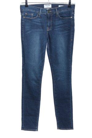 Frame Denim Skinny Jeans blau Casual-Look