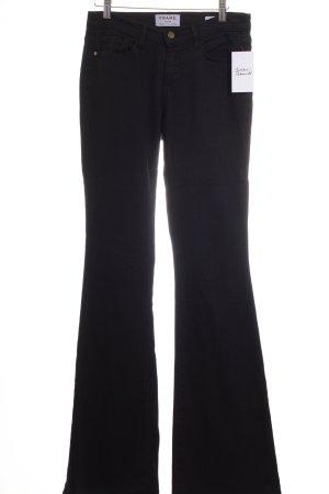 """Frame Denim Skinny Jeans """"Le Skinny Flare"""" schwarz"""