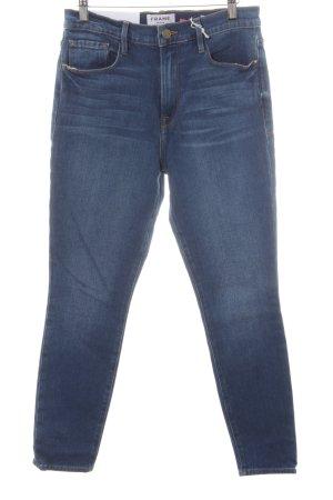 Frame Denim Slim Jeans stahlblau Casual-Look
