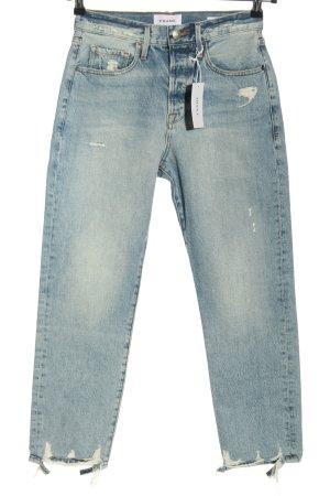 FRAME High Waist Jeans blau Casual-Look