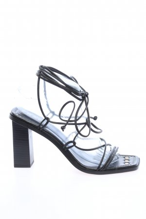 FRAME Riemchen-Sandaletten schwarz Casual-Look