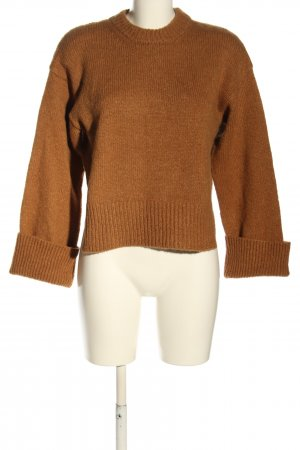 FRAME Wollpullover braun Casual-Look