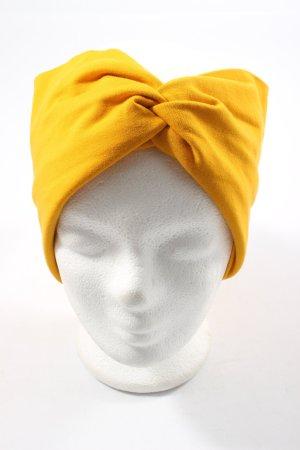 FRANBAN COMPANY Nastro per capelli giallo pallido stile casual