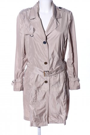 Franca Luca Trenchcoat wollweiß Casual-Look