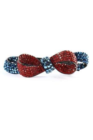france clip Barrette bleu-rouge élégant