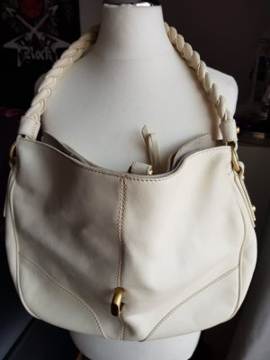 Francesco Biasia Handbag white-natural white