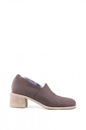 Francesco Picinotti High-Front Pumps lilac casual look