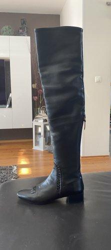 Francesco Russo Stivale cuissard nero