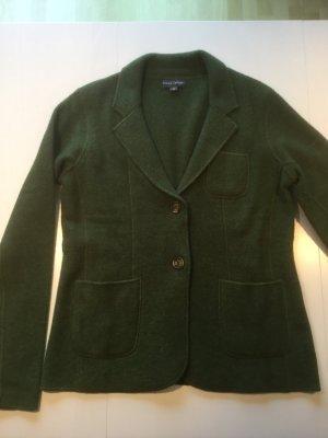 Franco Callegari Wool Blazer forest green wool