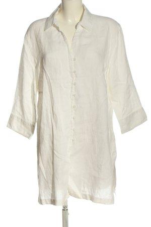 Franco Callegari Linnen blouse wit casual uitstraling