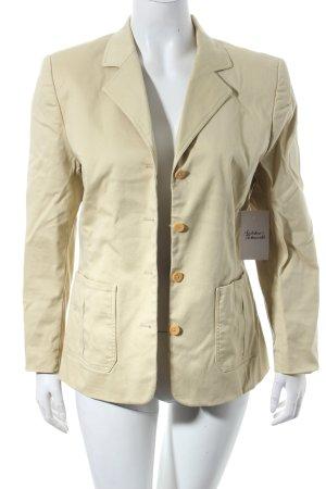 Franco Callegari Long-Blazer beige Casual-Look
