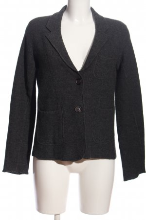Franco Callegari Knitted Blazer black flecked casual look
