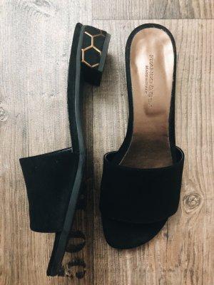 Franco&Co Sandalen mit gemusterten Absatz - 1x getragen / Neupreis: 120€