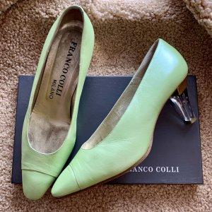 Franco Colli Classic Court Shoe multicolored leather