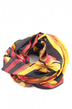 Franco Laurenti Shoulder Scarf abstract pattern casual look