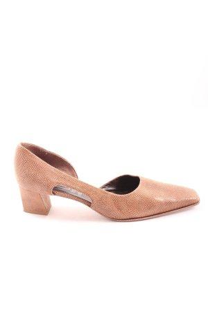 Franco Visconti High Heels pink Allover-Druck Casual-Look