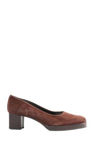 Franco Visconti High Heels braun Business-Look