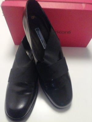 Franco Visconti Pantofel czarny