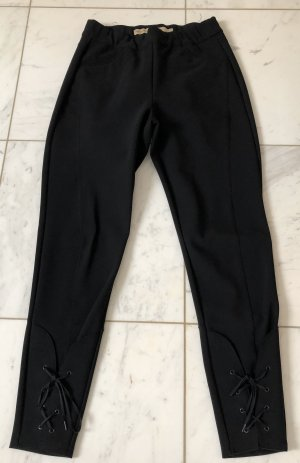 Le Jean De Marithé + Francois Girbaud Stretch Trousers black polyester