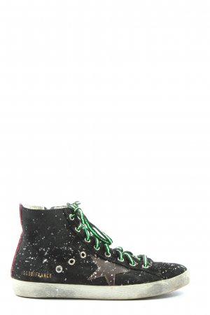 Golden Goose Lace-Up Sneaker allover print casual look