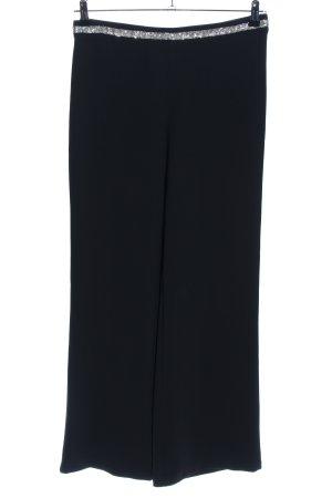 Frank Lyman Pantalone culotte nero-argento stile professionale