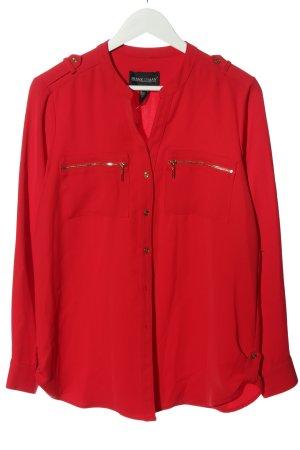 Frank Lyman Camicia blusa rosso stile casual