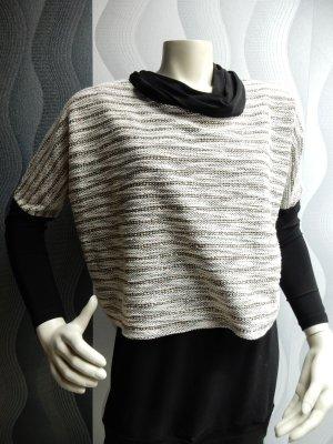 Frank Lyman Oversized Sweater black-beige