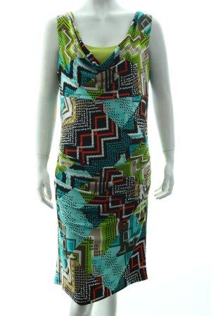 Frank Lyman Sukienka tuba Abstrakcyjny wzór Ekstrawagancki styl