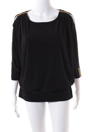 Frank Lyman Shirt schwarz Party-Look