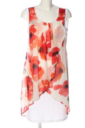 Frank Lyman Asymetryczna sukienka Na całej powierzchni W stylu casual