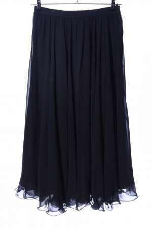 Frank Usher Falda larga negro elegante