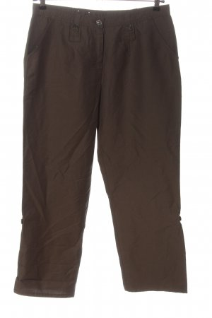 Frank Walder 7/8 Length Trousers brown casual look