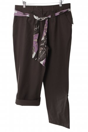 Frank Walder 7/8 Length Trousers multicolored casual look