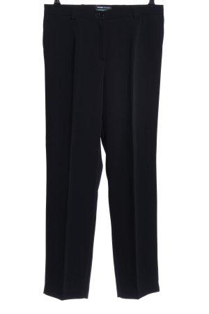 Frank Walder Pantalon de costume noir style d'affaires