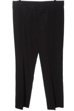 Frank Walder Pantalone da abito nero stile professionale