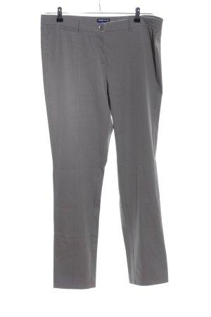Frank Walder Pantalone da abito grigio chiaro stile casual
