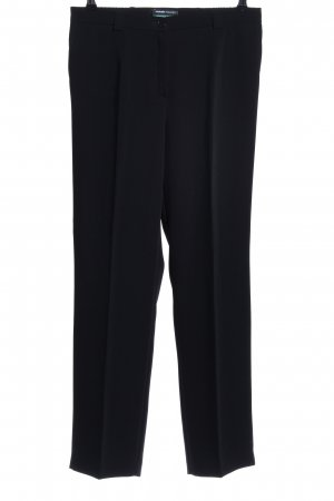 Frank Walder Pantalón de vestir negro estilo «business»