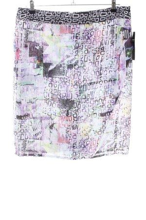Frank Walder Bleistiftrock abstraktes Muster Casual-Look