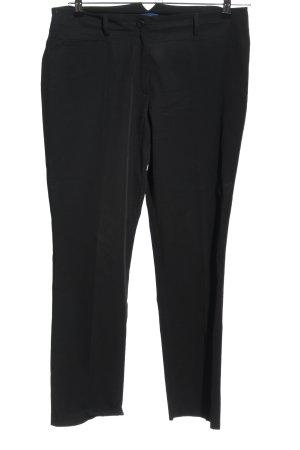 Frank Walder Pantalone a pieghe nero stile casual