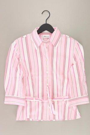 Frank Walder gestreifte Bluse pink Größe 38