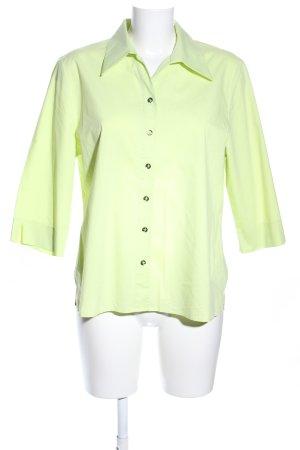 Frank Walder Hemd-Bluse grün Casual-Look