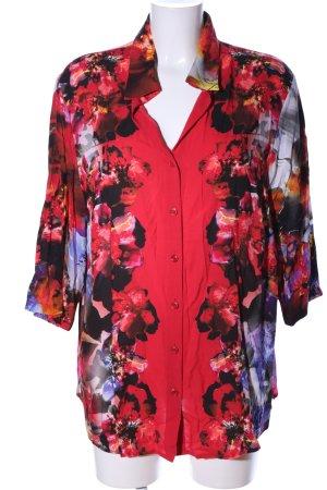 Frank Walder Camicia blusa motivo floreale stile professionale